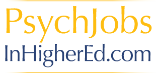 Psych Jobs in Higher Eduction
